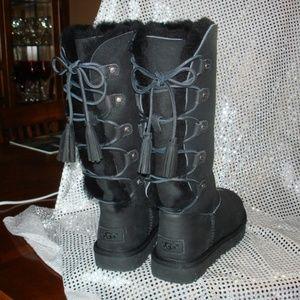 5861351fef2 Women's Lace Up Ugg Boots   Poshmark